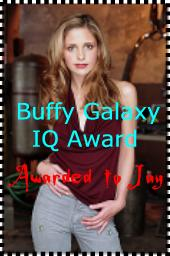 Buffy Galaxy IQ Award