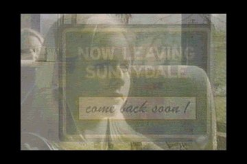 Now leaving Sunnydale...